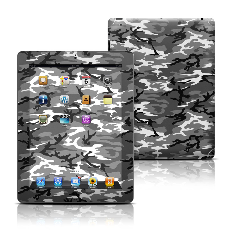 Urban Camo iPad 3rd & 4th Gen Skin