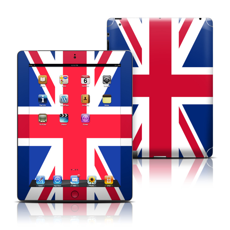 Union Jack Apple iPad Skin