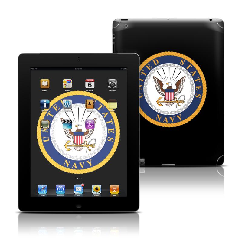 USN Emblem iPad 3rd & 4th Gen Skin