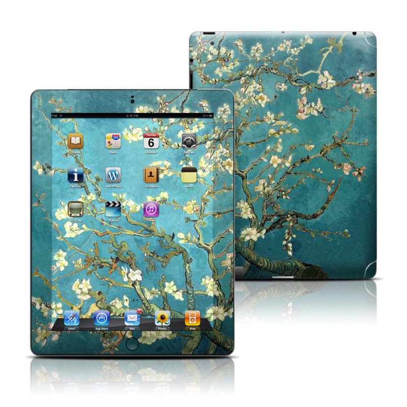 Blossoming Almond Tree Apple iPad Skin