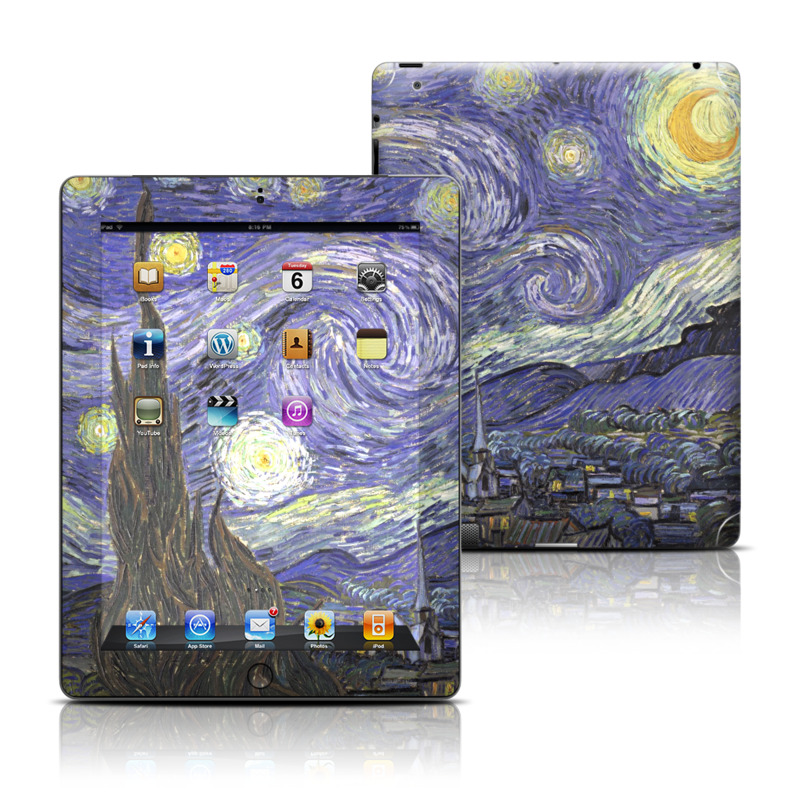 Starry Night iPad 3rd & 4th Gen Skin