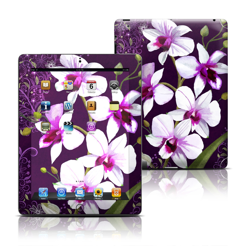 Violet Worlds Apple iPad Skin