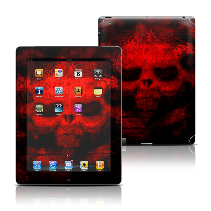 War Apple iPad Skin