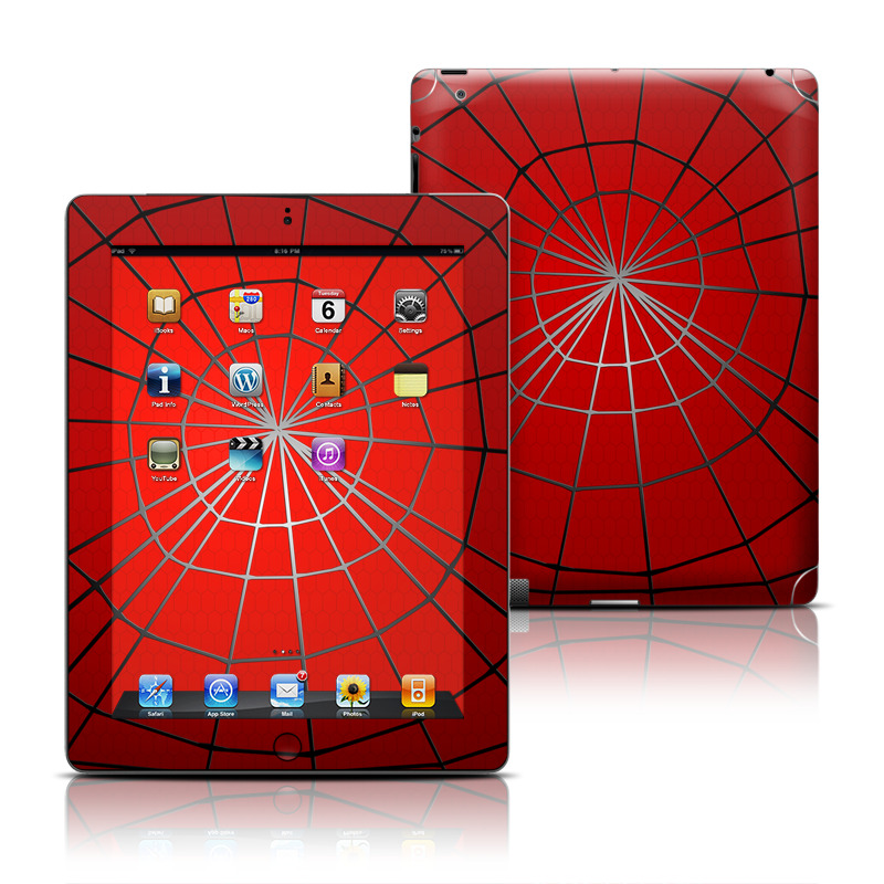 Webslinger Apple iPad Skin