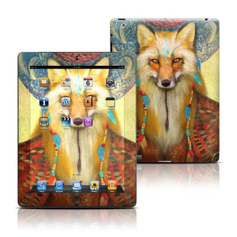 Wise Fox iPad Skin