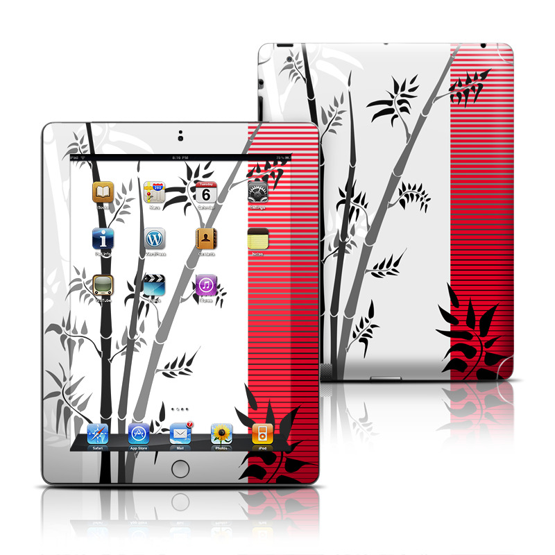 Zen Apple iPad Skin