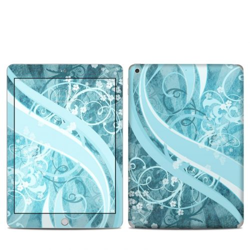 Flores Agua iPad 5th Gen Skin