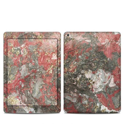 Gilded Magma Marble iPad 5th Gen Skin