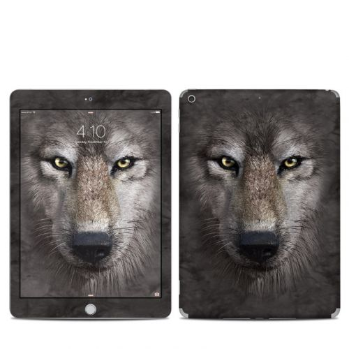 Grey Wolf iPad 5th Gen Skin