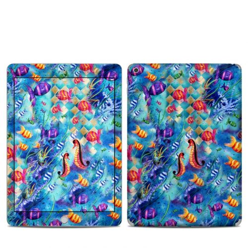Harlequin Seascape iPad 5th Gen Skin