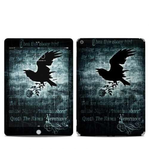 Nevermore iPad 5th Gen Skin