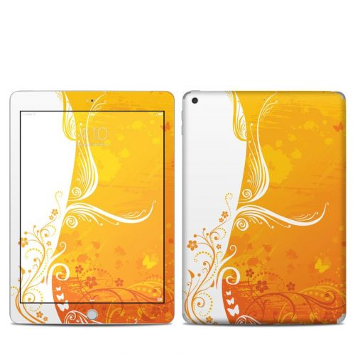 Orange Crush iPad 5th Gen Skin