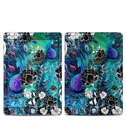 Peacock Garden iPad 5th Gen Skin