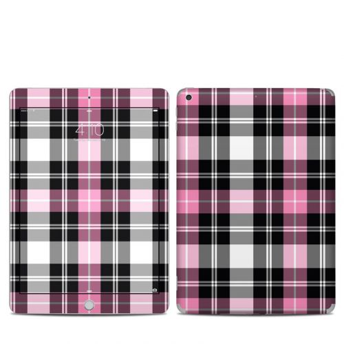 Pink Plaid iPad 5th Gen Skin