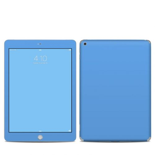 Solid State Blue iPad 5th Gen Skin
