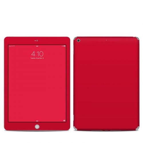 Solid State Red iPad 5th Gen Skin