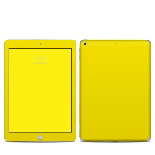 Solid State Yellow iPad 5th Gen Skin