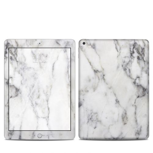 White Marble iPad 5th Gen Skin