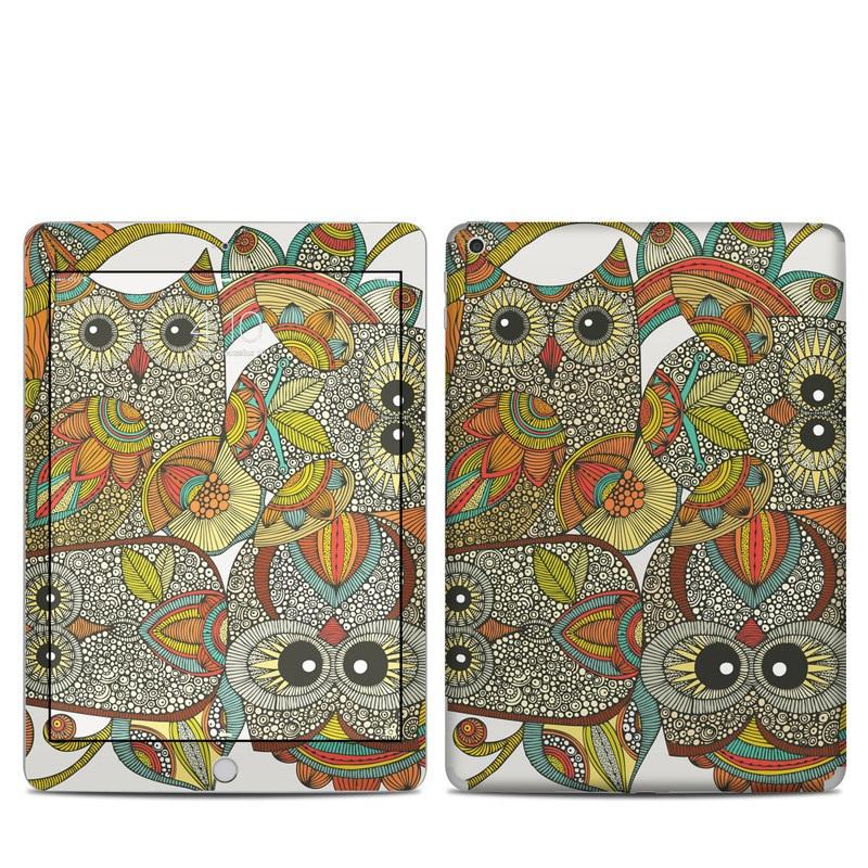 4 owls iPad 5th Gen Skin