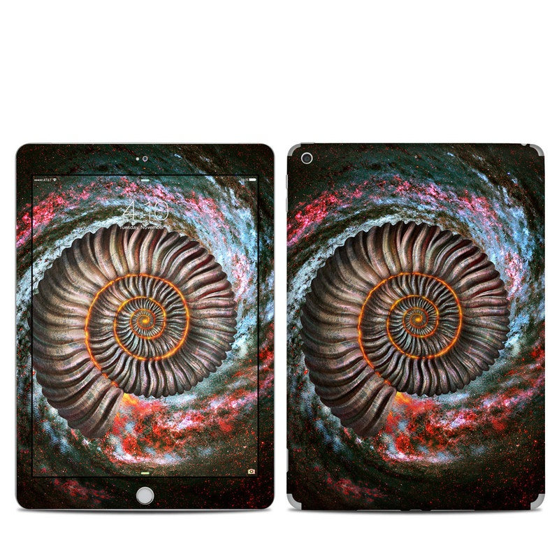 Ammonite Galaxy iPad 5th Gen Skin