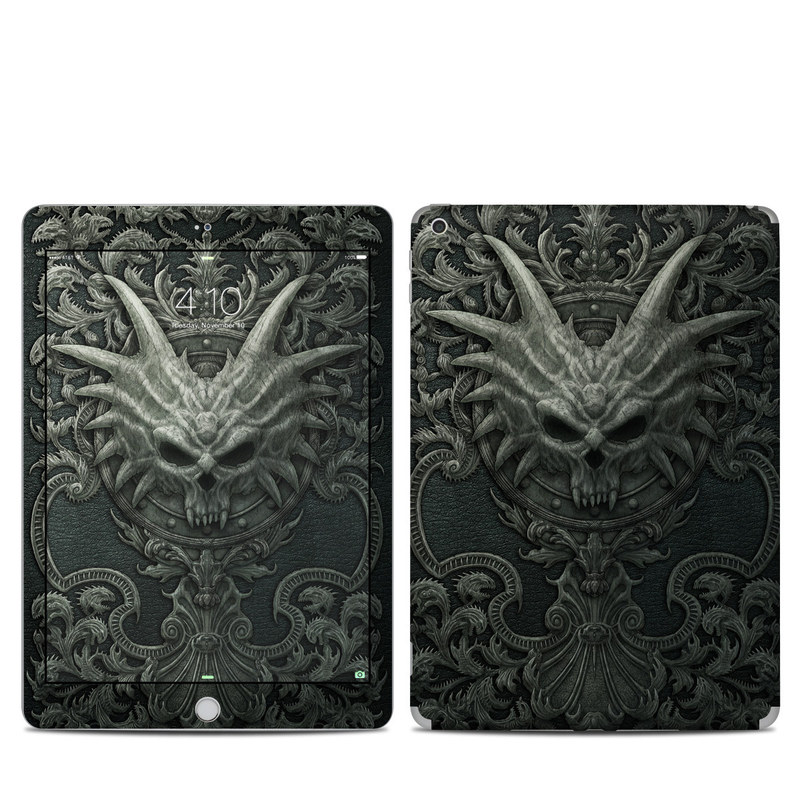 Black Book iPad 5th Gen Skin