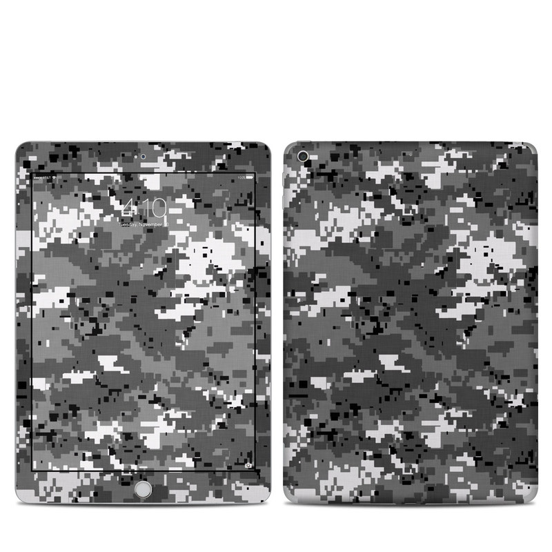 Digital Urban Camo iPad 5th Gen Skin