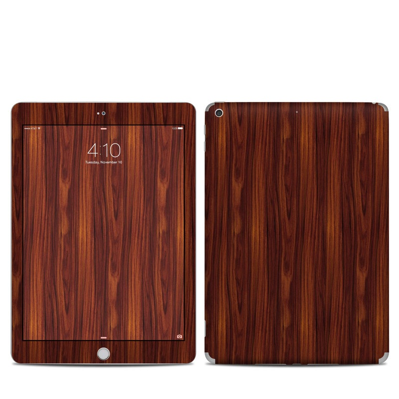 Dark Rosewood iPad 5th Gen Skin