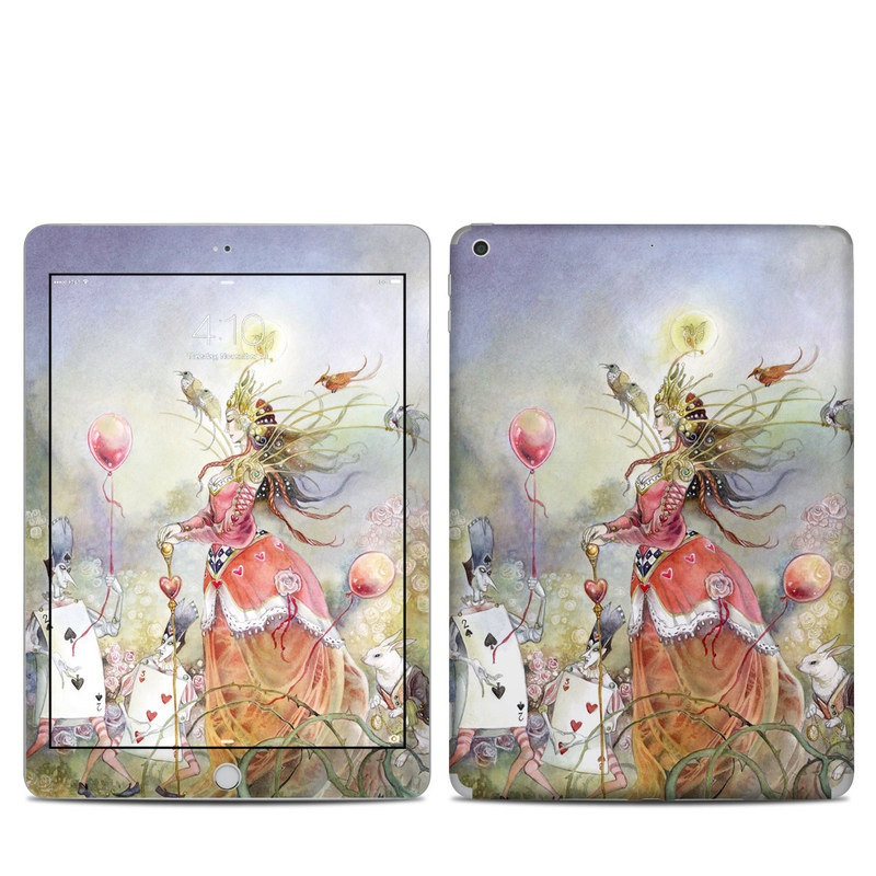 Queen of Hearts iPad 5th Gen Skin