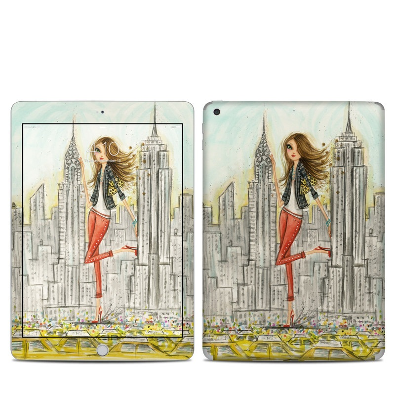 The Sights New York iPad 5th Gen Skin