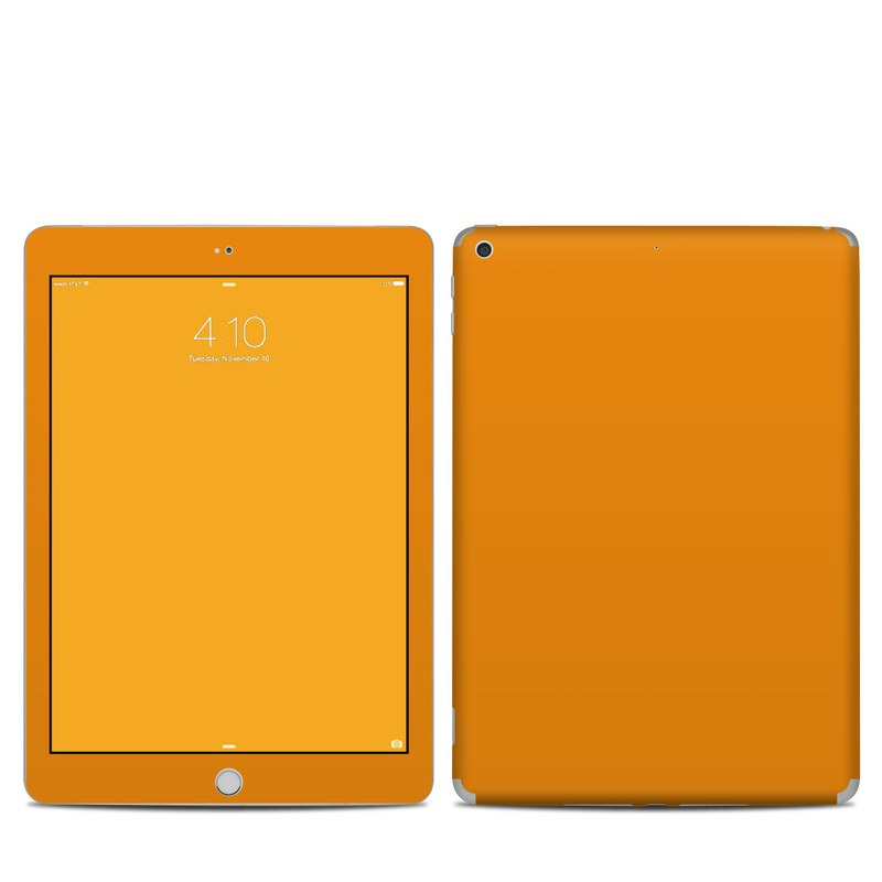 Solid State Orange iPad 5th Gen Skin