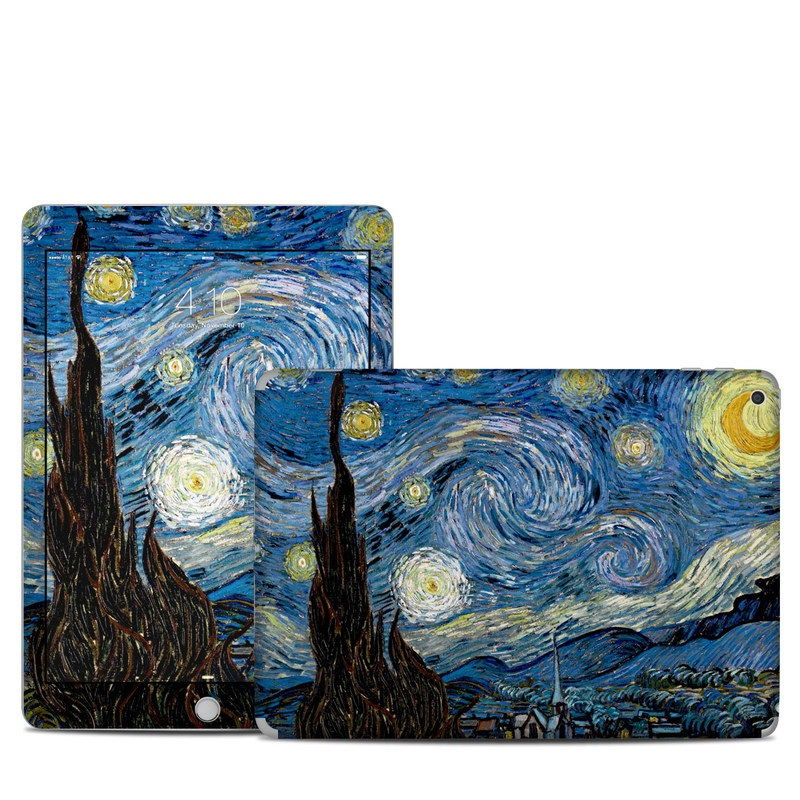 Starry Night iPad 5th Gen Skin
