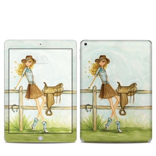 Cowgirl Glam iPad 6th Gen Skin