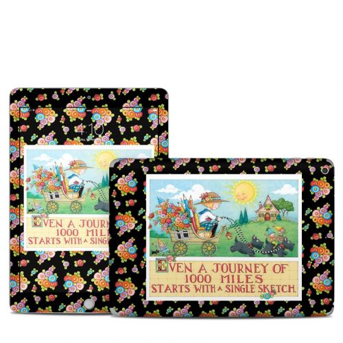 Forty Year Journey iPad 6th Gen Skin