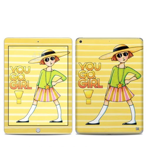 You Go Girl iPad 6th Gen Skin