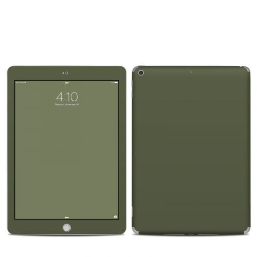 Solid State Olive Drab iPad 6th Gen Skin