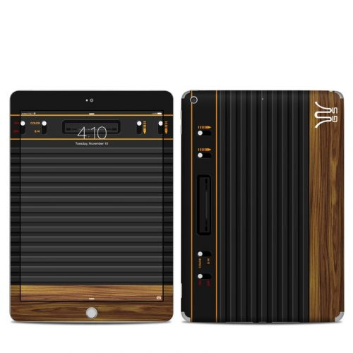 Wooden Gaming System iPad 6th Gen Skin