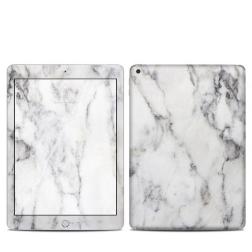White Marble iPad 6th Gen Skin