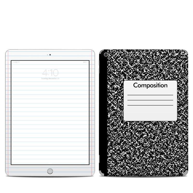 Composition Notebook iPad 6th Gen Skin