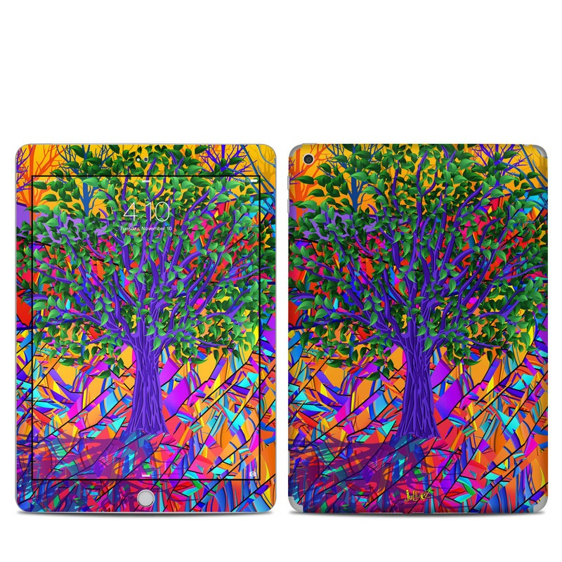 Stained Glass Tree iPad 6th Gen Skin