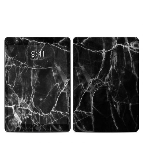 Black Marble iPad 7th Gen Skin