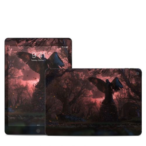 Black Angel iPad Skin
