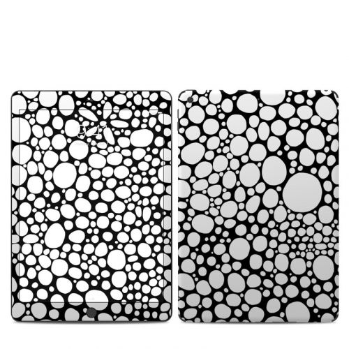 BW Bubbles iPad 7th Gen Skin