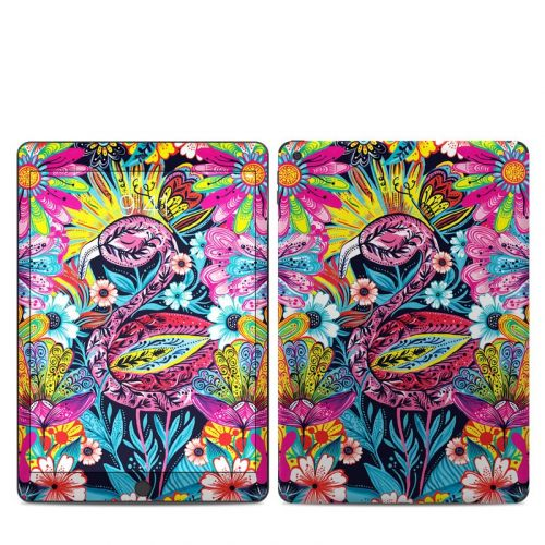 Flashy Flamingo iPad 7th Gen Skin
