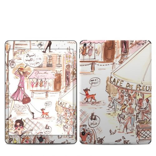 Paris Makes Me Happy iPad 7th Gen Skin