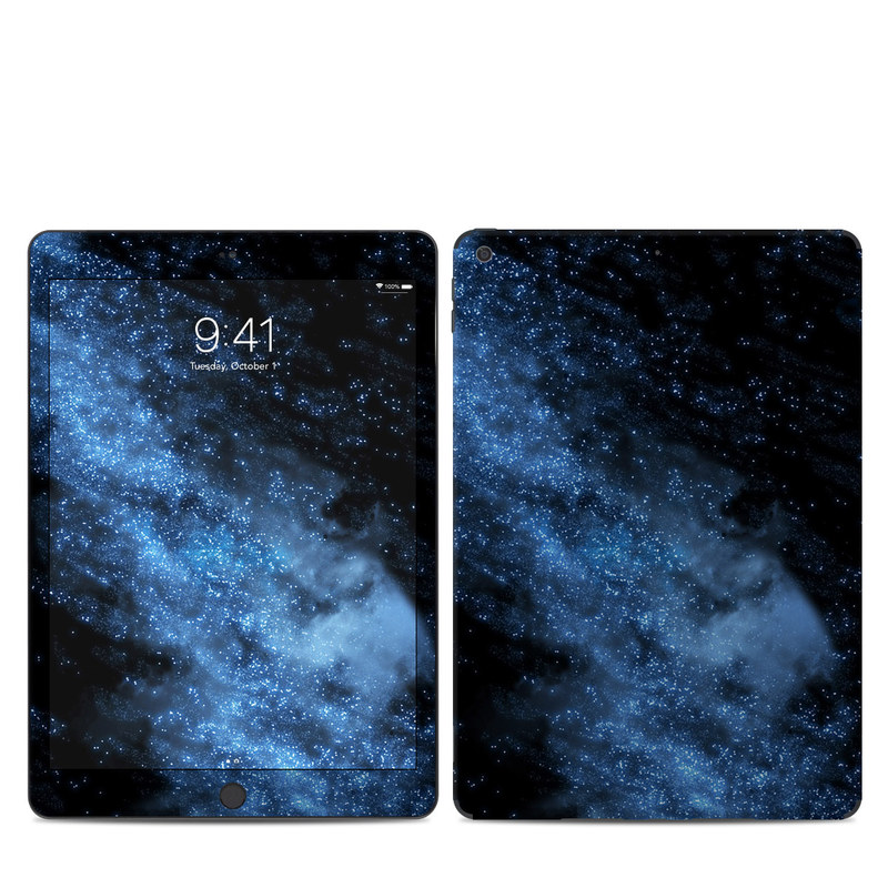 iPad 7th Gen Skin design of Sky, Atmosphere, Black, Blue, Outer space, Atmospheric phenomenon, Astronomical object, Darkness, Universe, Space with black, blue colors