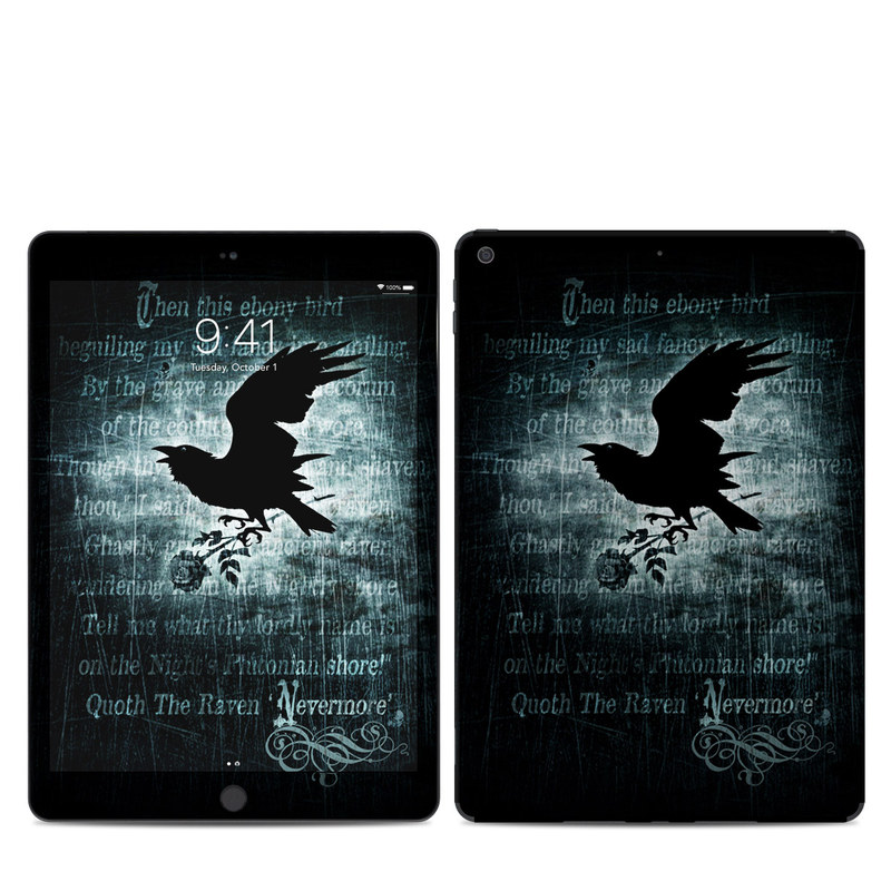 iPad Skin design of Bird, Text, Wing, Graphic design, Darkness, Font, Illustration, Graphics with black, white, blue colors