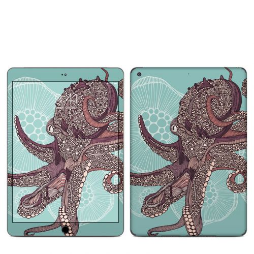 Octopus Bloom iPad Skin