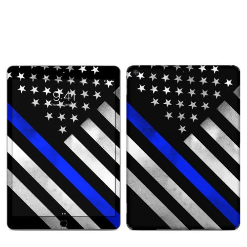 Thin Blue Line Hero iPad Skin