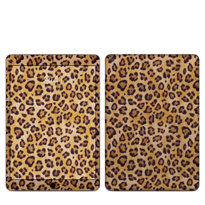 iPad Skin design of Pattern, Felidae, Fur, Brown, Design, Terrestrial animal, Close-up, Big cats, African leopard, Organism with orange, black colors