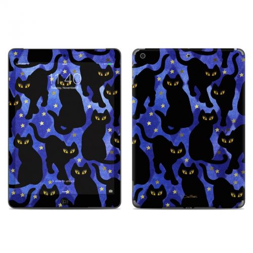 Cat Silhouettes iPad Air Skin